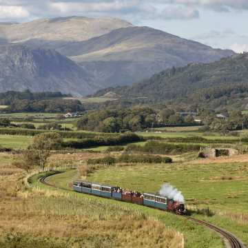Take a ride on the Ravenglass and Eskdale Railway