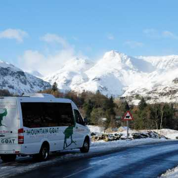Winter Lake District Tour with Lake Cruise from Windermere (4 Days)