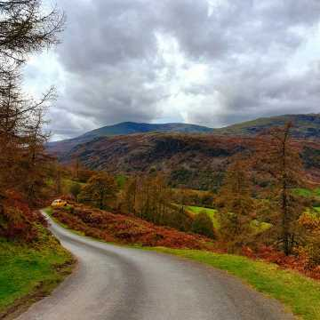 Beautiful autumn landscapes in the Lakes