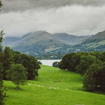 One night rail & road Lake District tour from Glasgow