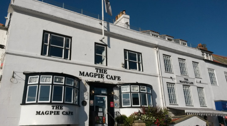 Magpie Cafe in Whitby